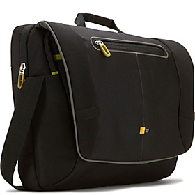 17'' Laptop Messenger Bag Black