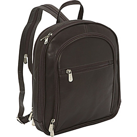 Small Multi-Compartment Backpack Chocolate