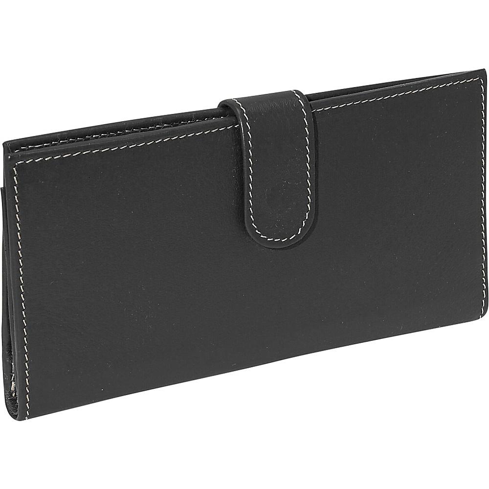Piel Multi-Card Wallet - Black - Women's SLG, Women's Wallets
