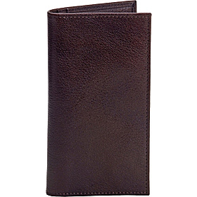Checkbook Wallet w/ ID  Brown Venetian