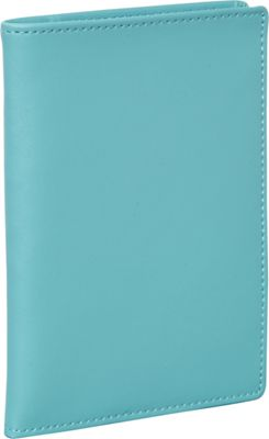 Clava Travel Passport Wallet CI Aqua - Clava Travel Wallets