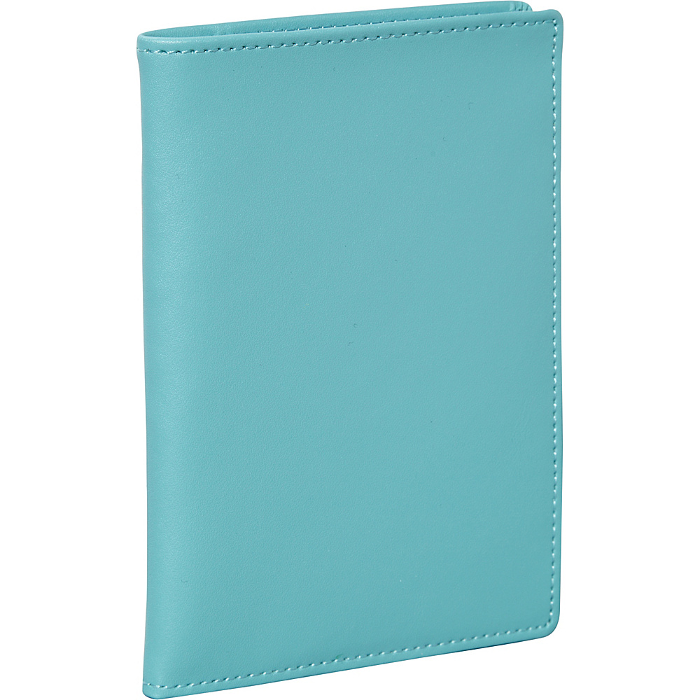Clava Travel Passport Wallet CI Aqua Clava Travel Wallets