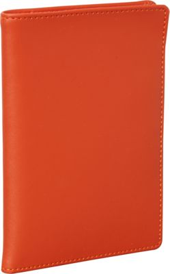 Clava Travel Passport Wallet CI Orange - Clava Travel Wallets