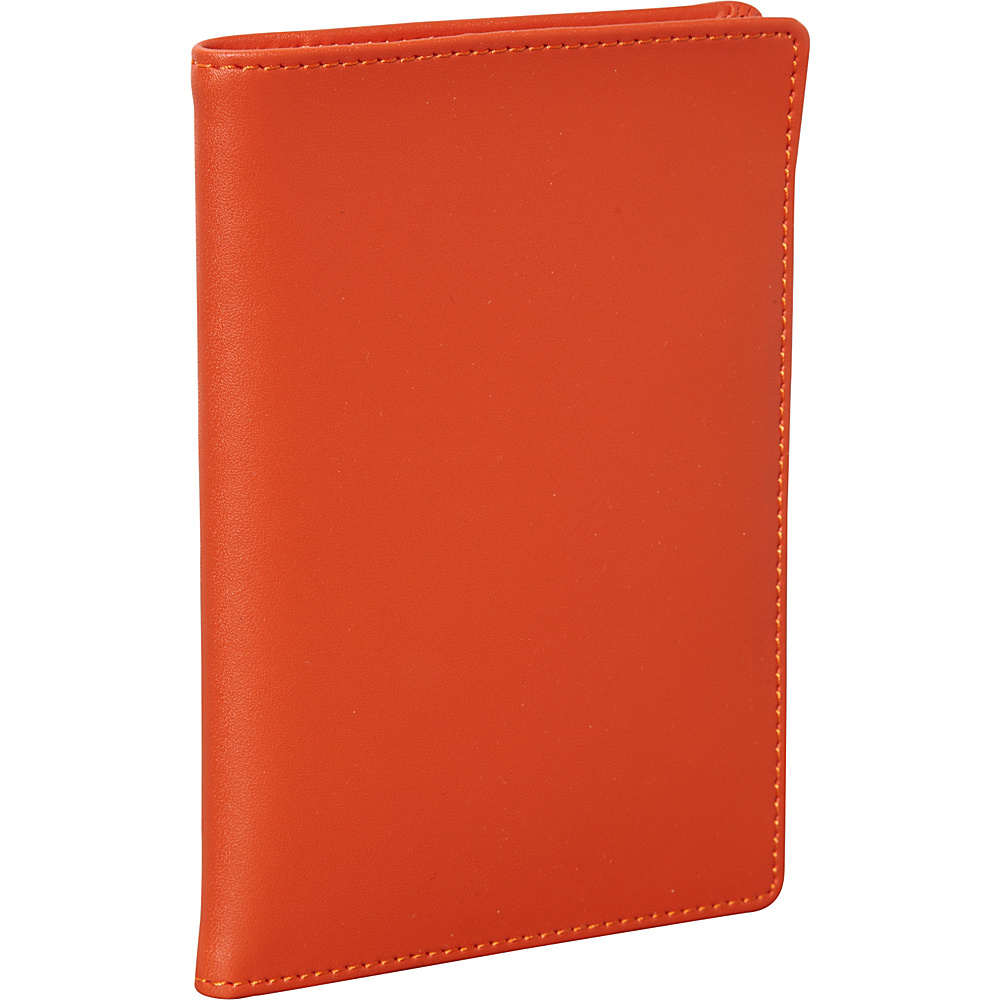Clava Travel Passport Wallet CI Orange Clava Travel Wallets