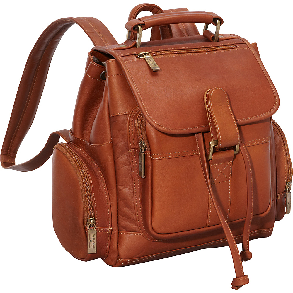 ClaireChase Uptown Netbook Bak Pack Small Saddle