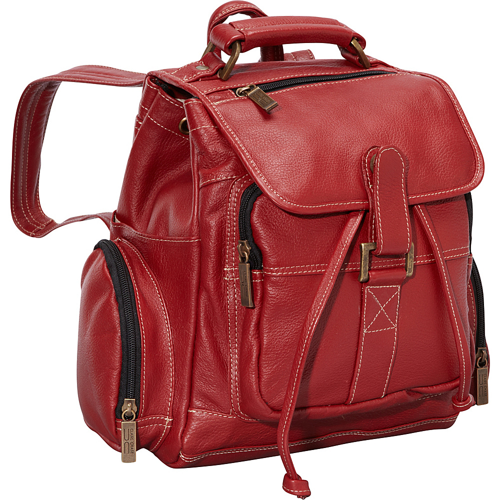 ClaireChase Uptown Netbook Bak Pack Small Red