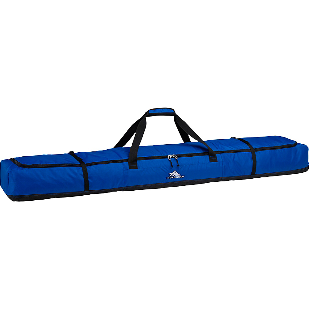High Sierra Double Padded Ski Bag Vivid Blue/Black - High Sierra Ski and Snowboard Bags