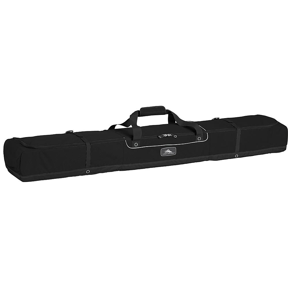 High Sierra Deluxe Double Ski Bag - Black