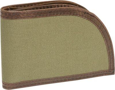Rogue Wallets Sport Wallet - Green Canvas