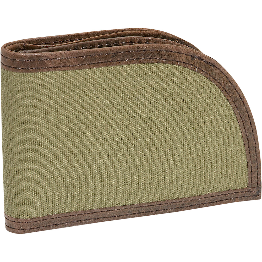 Rogue Wallets Sport Wallet Green Canvas