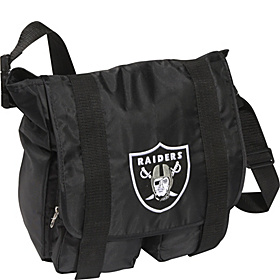 Oakland Raiders Sitter Diaper Bag Black