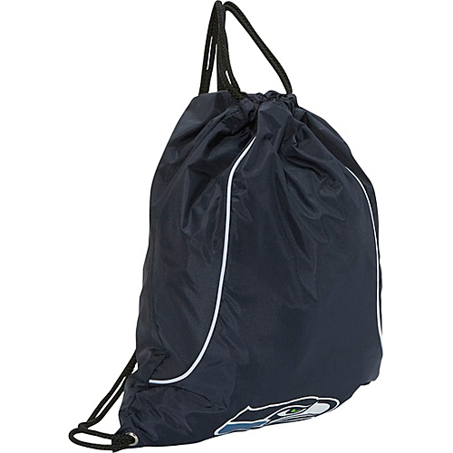 Concept One Seattle Seahawks String Bag Seattle Seahawks Navy - Concept One School & Day Hiking Backpacks