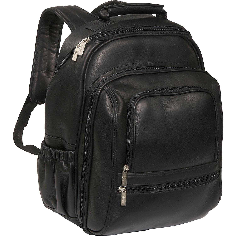 royce leather deluxe laptop backpack. Black Bedroom Furniture Sets. Home Design Ideas
