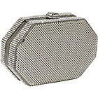 Buy Whiting and Davis Crystal Octagon Minaudiere by Whiting and Davis