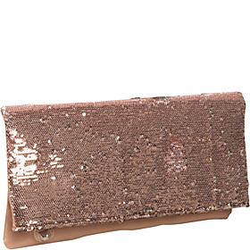 Molly Clutch Nude/Silver