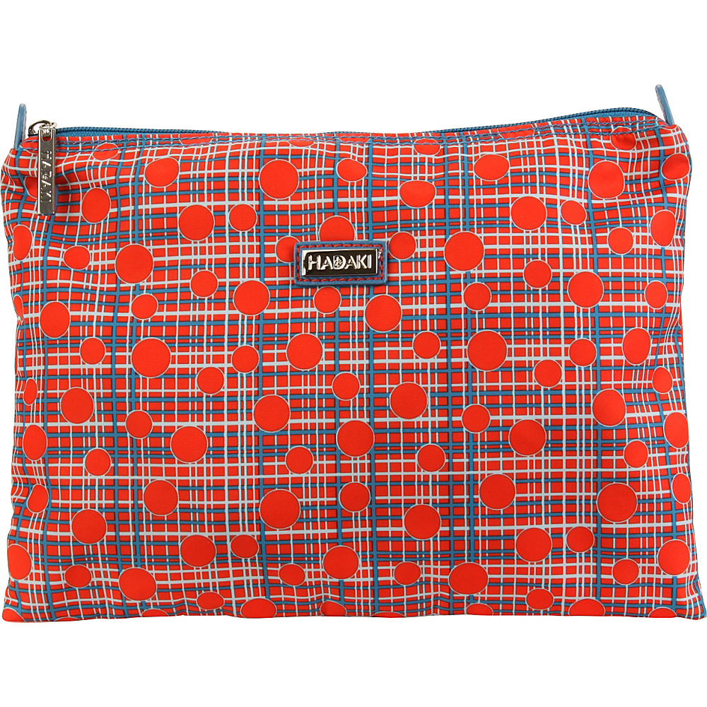 Hadaki Small Zippered Carry All Fiery Red Plaid - Hadaki Womens SLG Other - Women's SLG, Women's SLG Other