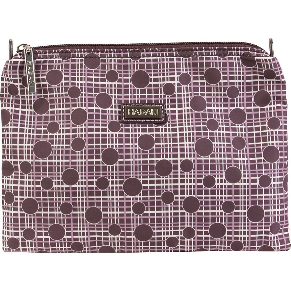 Hadaki Small Zippered Carry All Plum Perfect Plaid - Hadaki Womens SLG Other - Women's SLG, Women's SLG Other