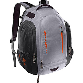 UA Innovate Backpack Aluminum/Graphite/Orange