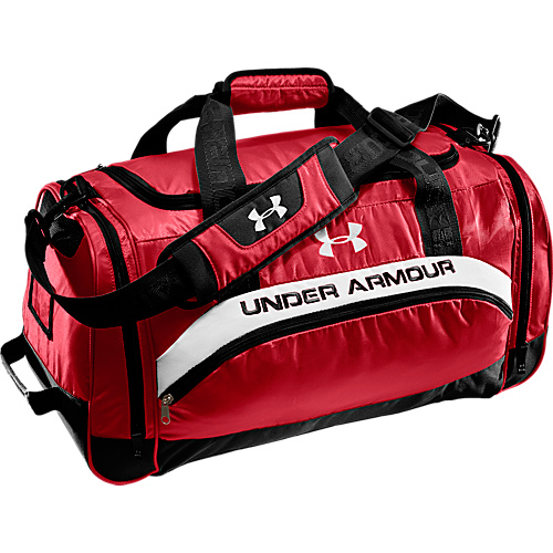 2ac04c3b80 Under Armour PTH Victory S Team Duffle - Red   Black   (10111513 1218046-