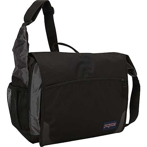 JanSport Elefunk Messenger Bag Black - Messenger Bags, Women's Messenger Bags