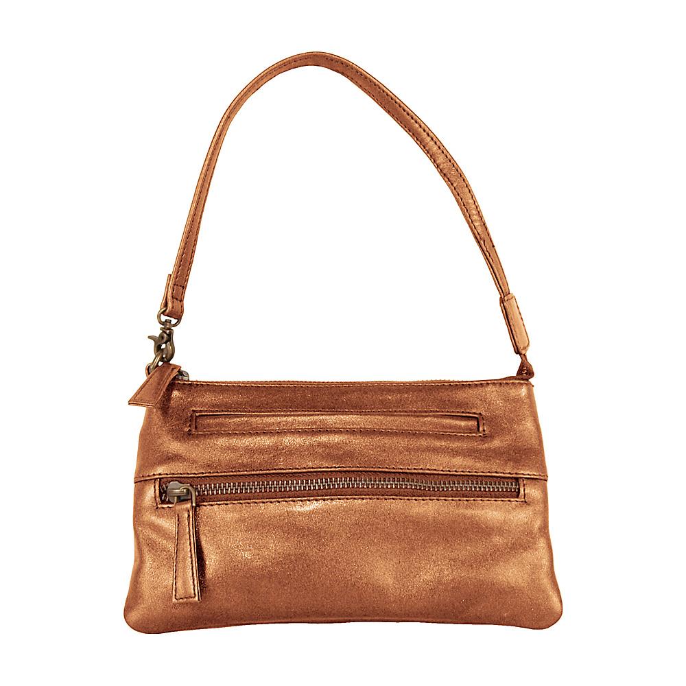 Latico Leathers Grier - Mimi in Memphis - Metallic - Handbags, Leather Handbags