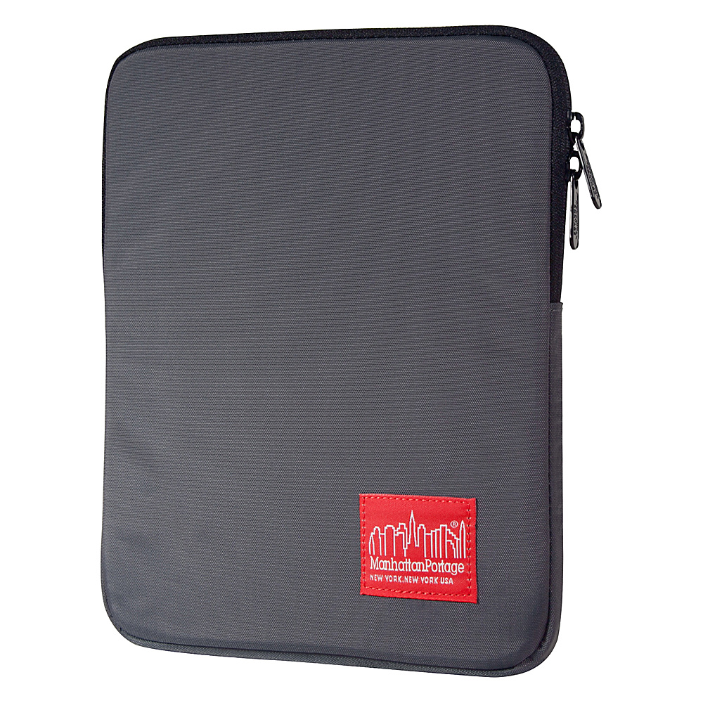 Manhattan Portage Nylon iPad Case Gray - Manhattan Portage Electronic Cases - Technology, Electronic Cases