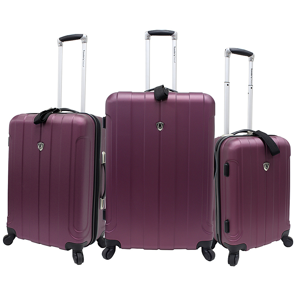 Travelers Choice Cambridge 3 Piece Hardshell Spinner - Luggage, Luggage Sets