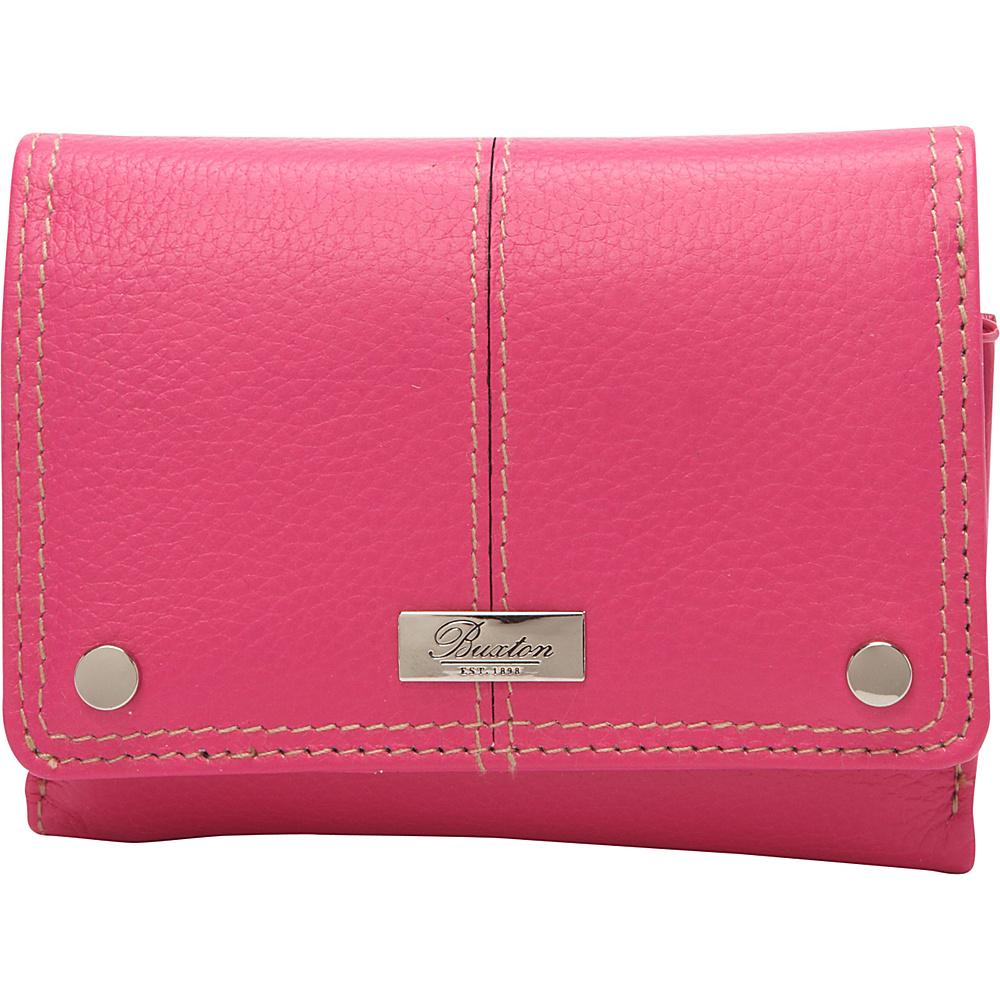 Buxton Westcott Multi Organizer Fuchsia Pink - Buxton Womens Wallets - Women's SLG, Women's Wallets