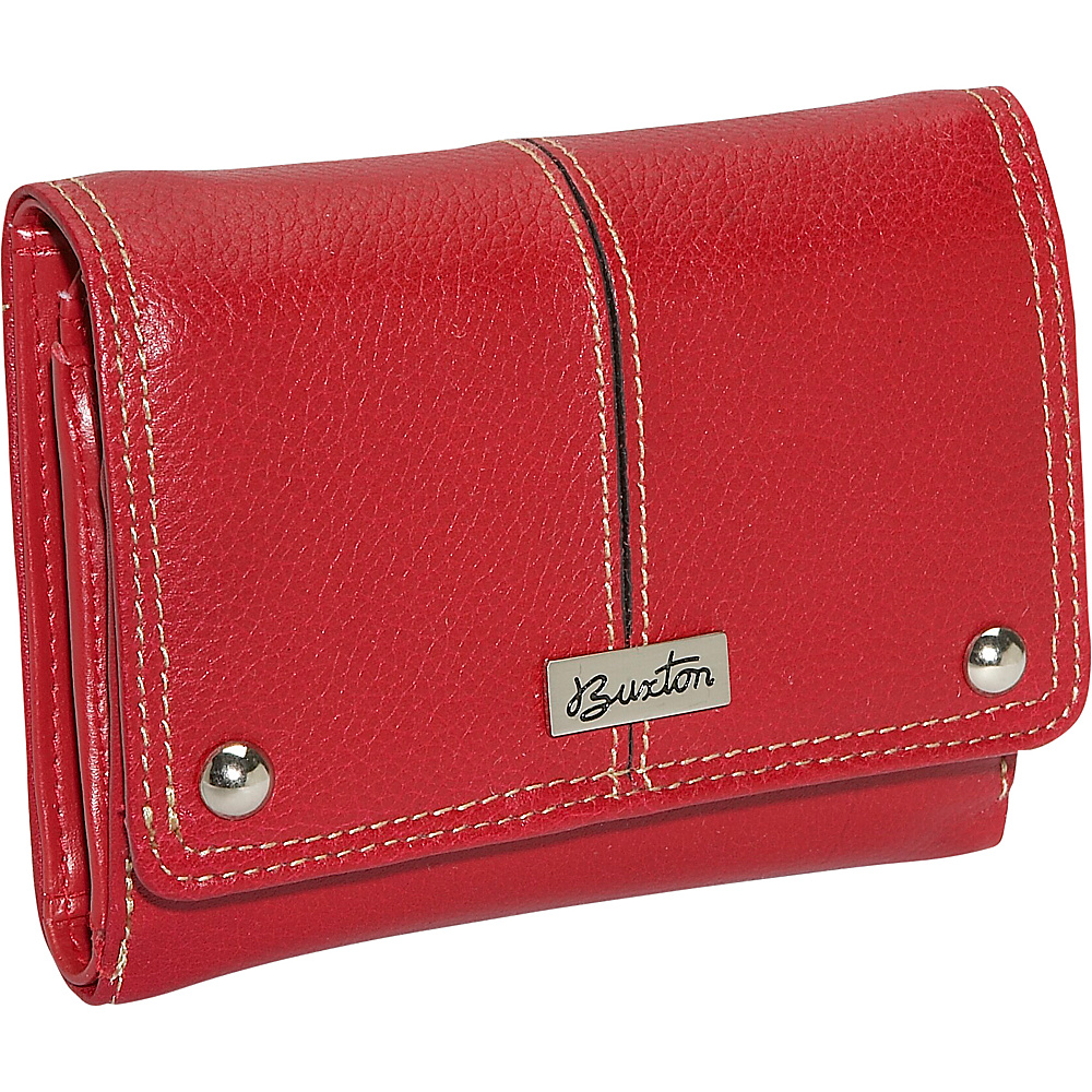 Buxton Westcott Multi Organizer - Red - Women's SLG, Women's Wallets