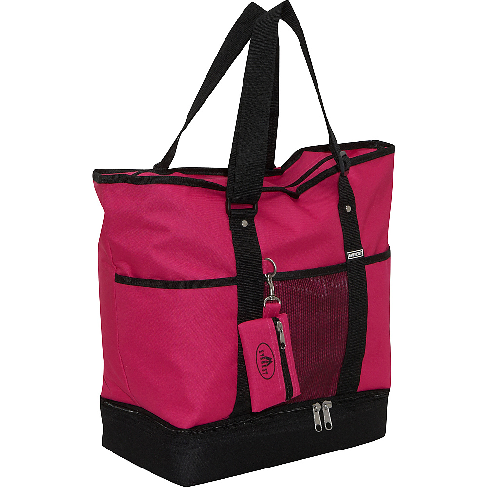 Everest Deluxe Sporting Tote - Hot Pink