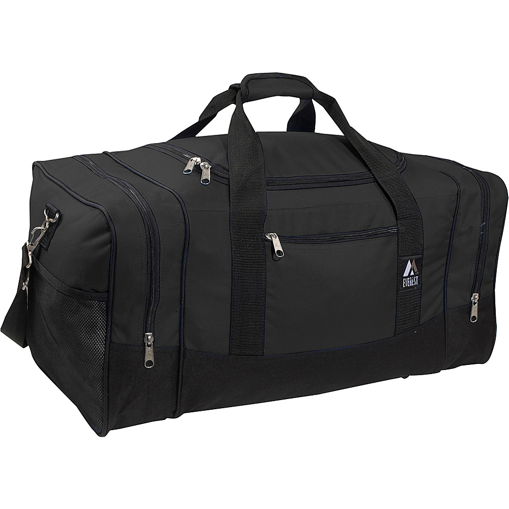 Everest 25 Sporty Gear Bag - Black - Duffels, Travel Duffels