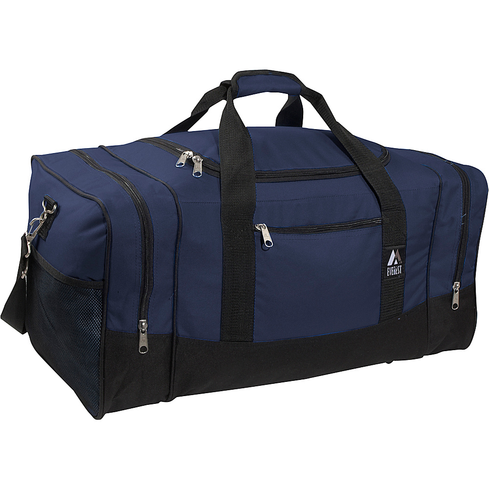 Everest 25 Sporty Gear Bag - Navy/Black - Duffels, Travel Duffels