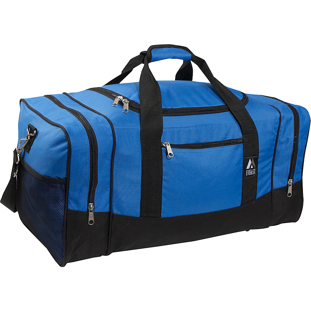 Everest 25 Sporty Gear Bag - Royal Blue/Black - Duffels, Travel Duffels
