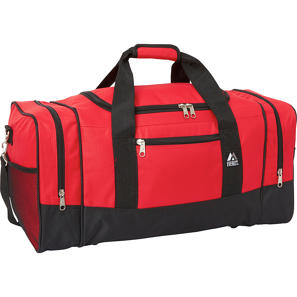 Everest 25 Sporty Gear Bag Red/Black - Everest Travel Duffels - Duffels, Travel Duffels