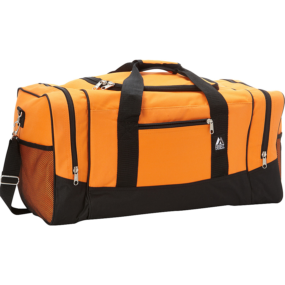 Everest 25 Sporty Gear Bag Orange - Everest Travel Duffels - Duffels, Travel Duffels