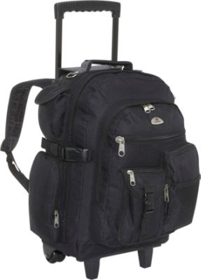 Rolling Suitcase Backpack dPNsi0N6