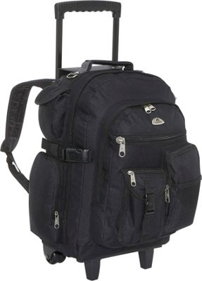Everest Deluxe Wheeled Backpack - eBags.com