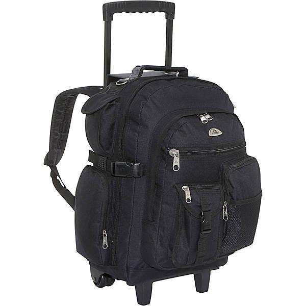 Everest Deluxe Wheeled Backpack - eBags.com
