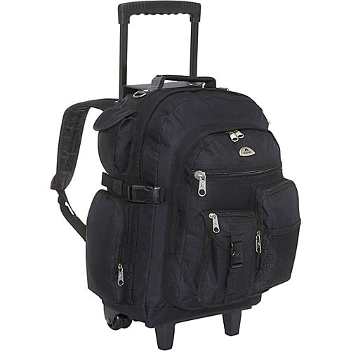 Everest Deluxe Wheeled Backpack Ebags Com