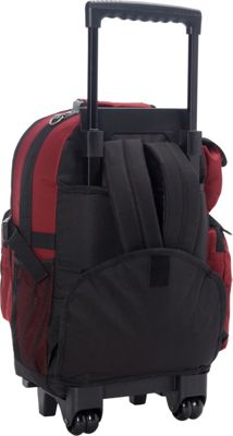 Everest Deluxe Wheeled Backpack 9 Colors Rolling Backpack NEW