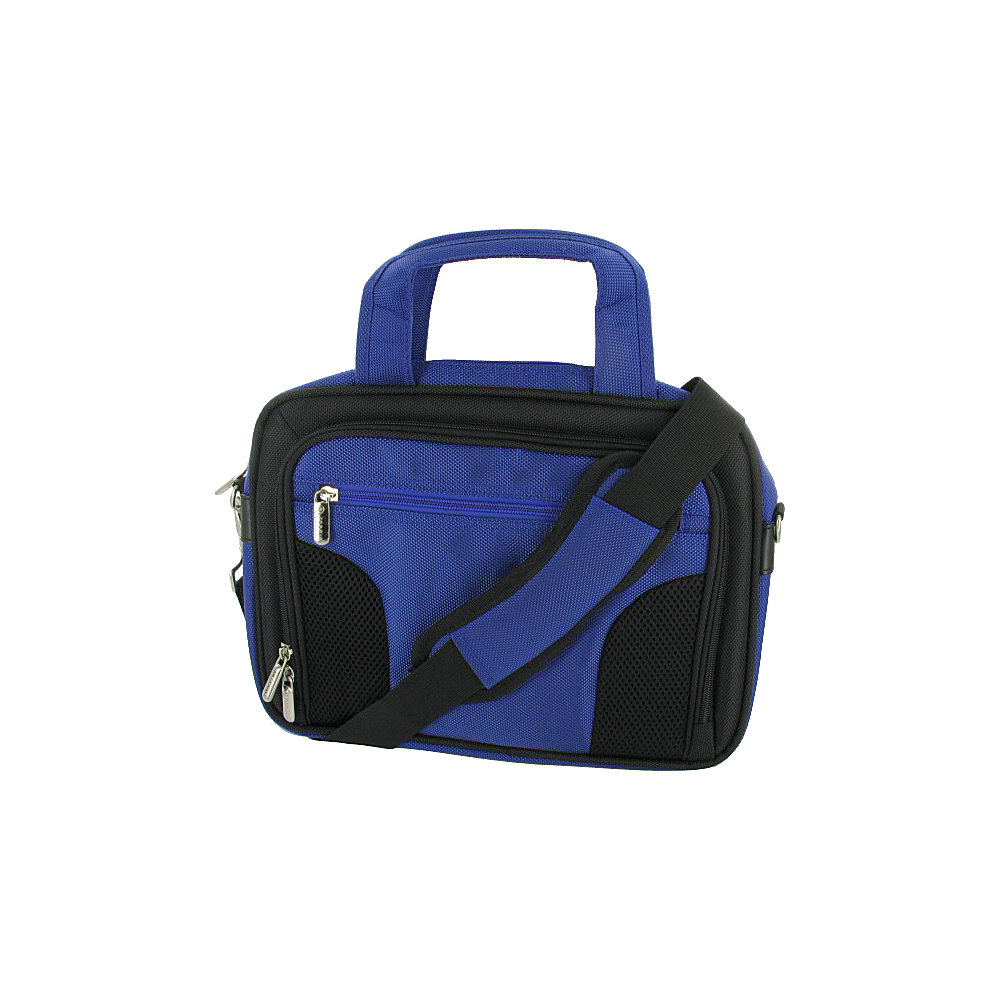 rooCASE Deluxe Carrying Bag for 13.3-Inch Netbook Blue - rooCASE Electronic Cases