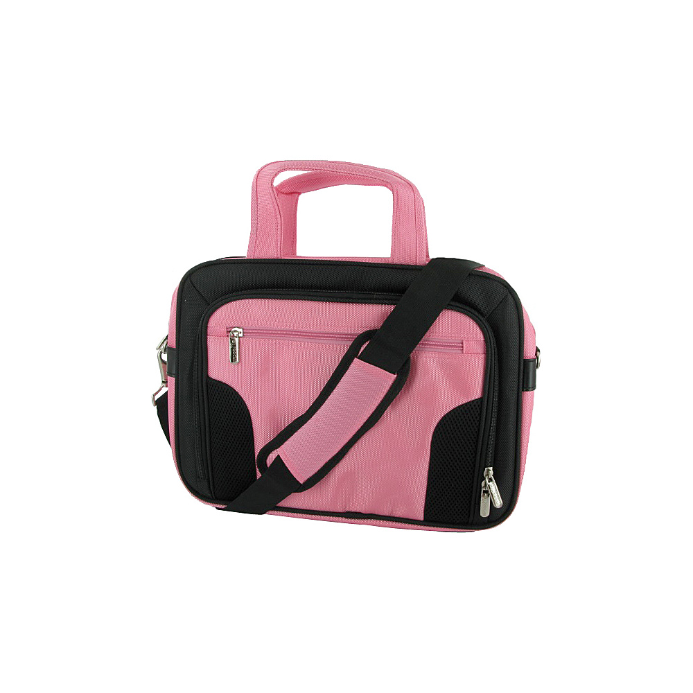 rooCASE Deluxe Carrying Bag for 13.3-Inch Netbook Pink - rooCASE Electronic Cases