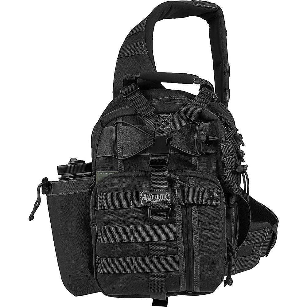 Maxpedition Noatak Gearslinger - Black - Outdoor, Day Hiking Backpacks