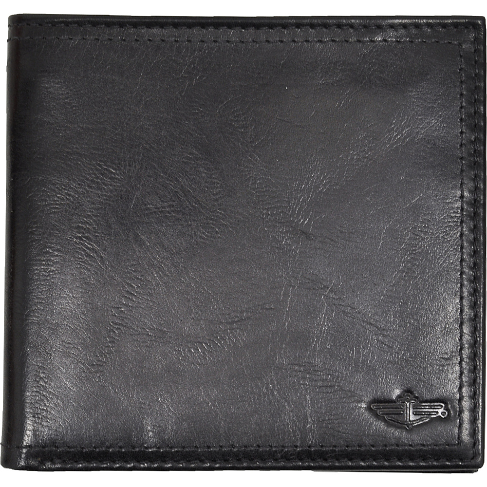 Dockers Wallets Hipster Wallet - Black - Work Bags & Briefcases, Men's Wallets