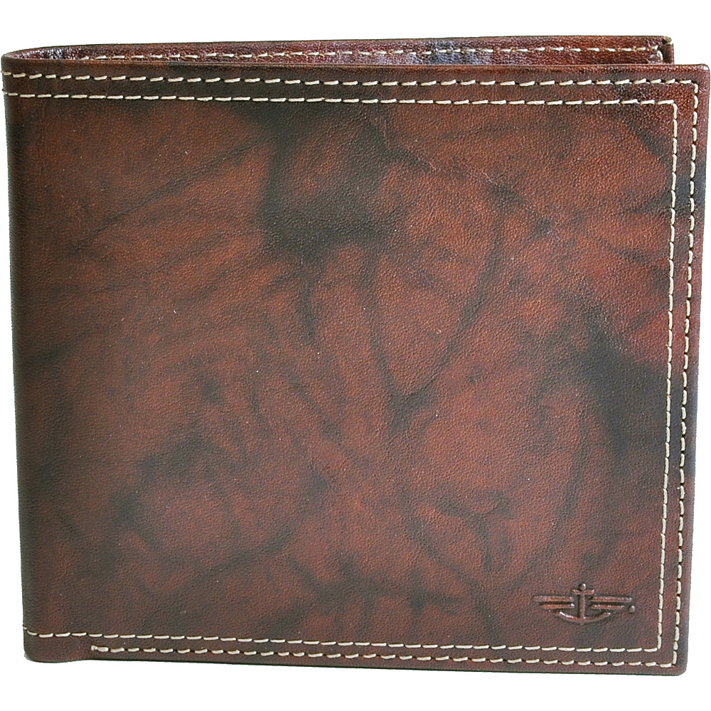 Dockers Wallets Hipster Wallet - Brown - Work Bags & Briefcases, Men's Wallets
