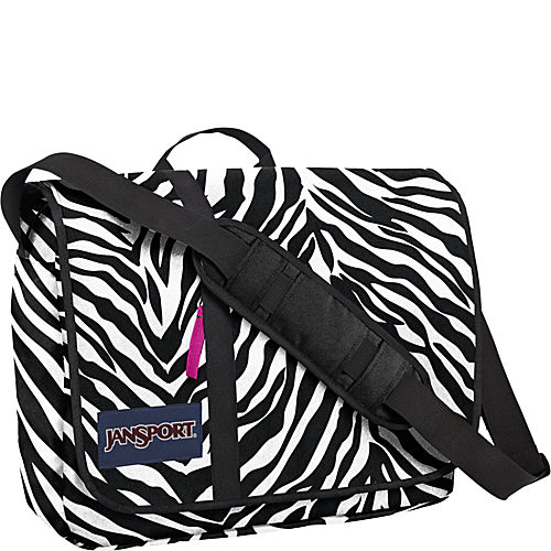 Black/White/Fluorscent Pink Miss Zebra - $39.90