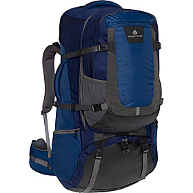 Rincon 90L Travel Backpack Pacific Blue Stratus