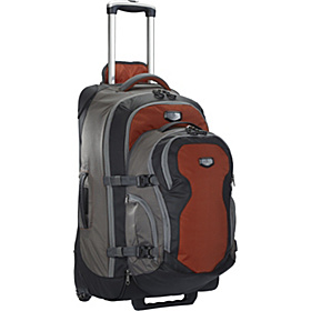 Switchback Max 25 - Rolling Travel Backpack Red Clay/Gray