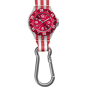 Jelly Clip Watch Red