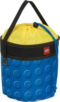 LEGO Small Cinch Bucket - Blue Knob Print